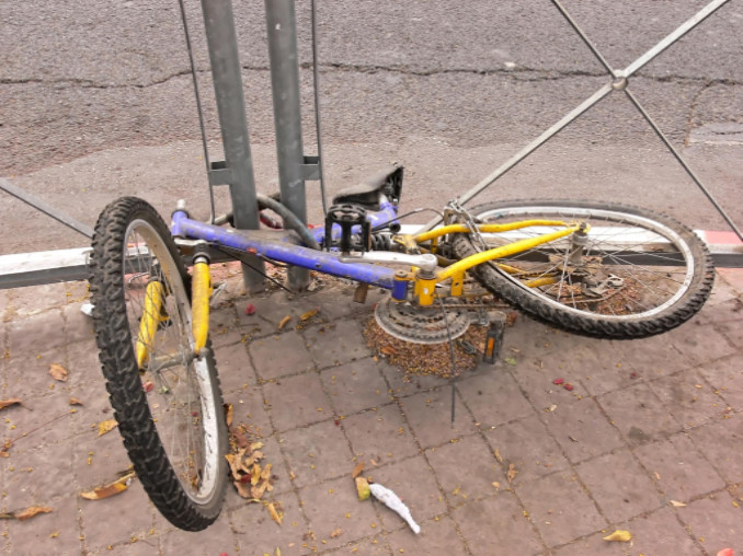 how to respond to a hit-and-run bicycle accident