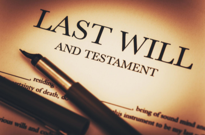 having a will for estate planning